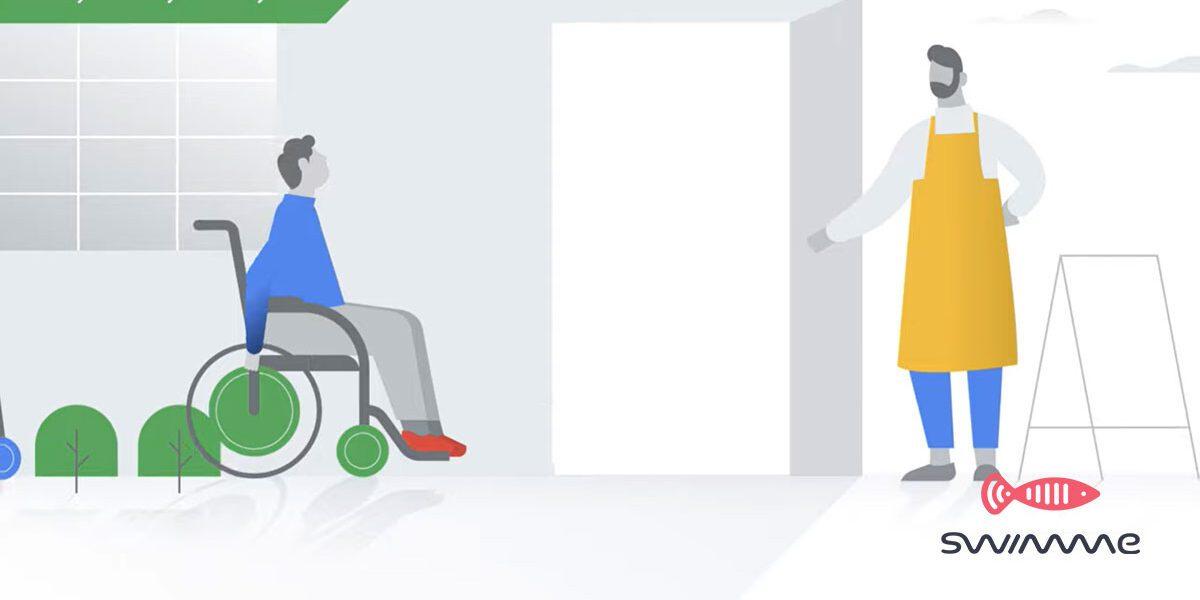 nuova funzione su Google Maps per ristoranti accessibili da disabili