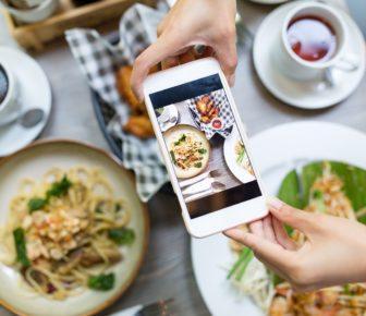 food blogger e influencer