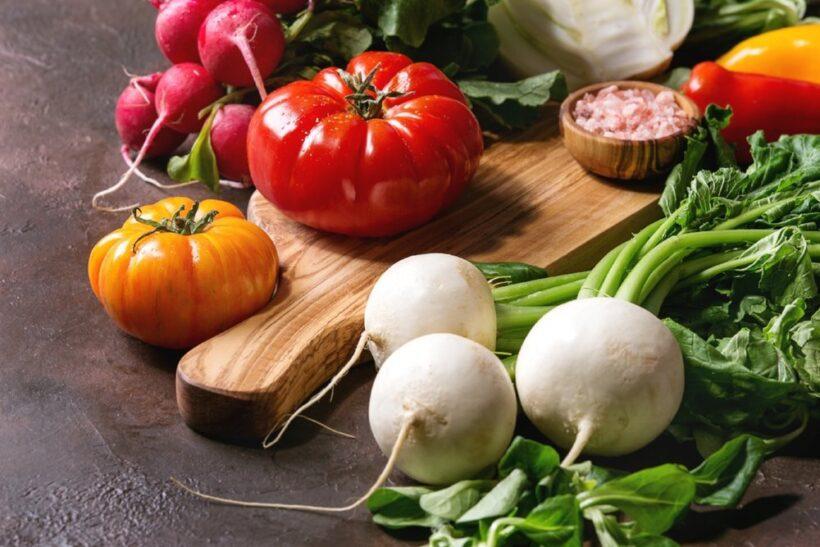 Ingredienti verdure