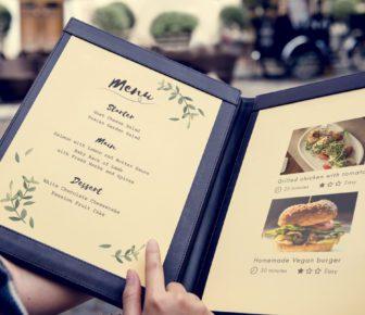 Come creare il menù per il tuo ristorante: l'importanza del porta menù