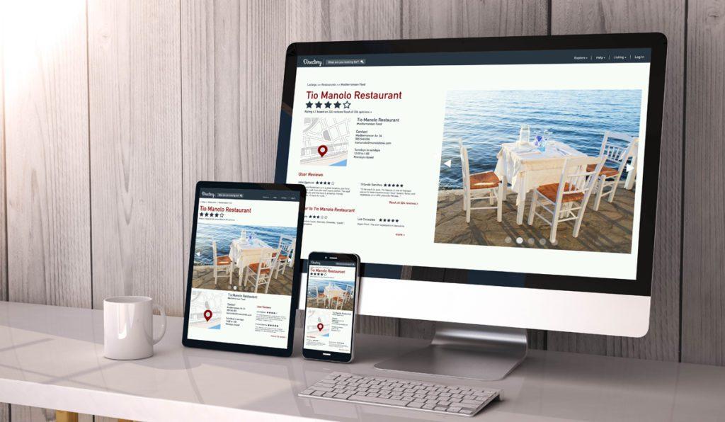 sito web risrorante responsive