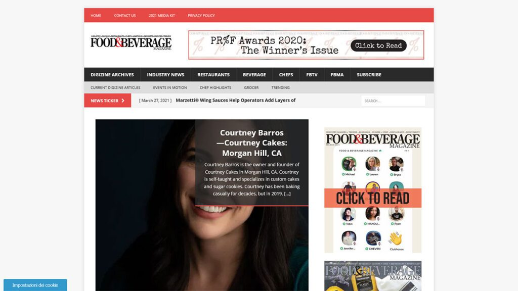 Food and Beverage Magazine