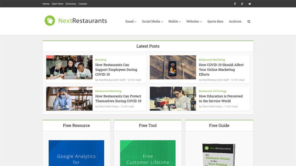 Free Digital Marketing Ideas for Restaurants