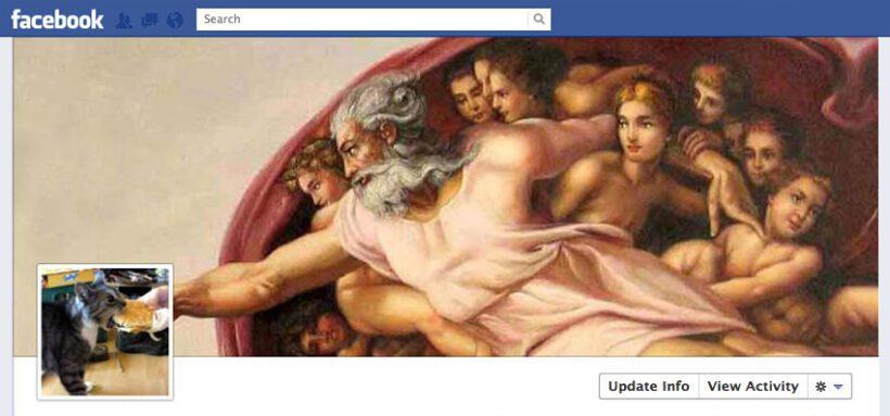 Idee per la tua copertina di Facebook: Cappella Sistina
