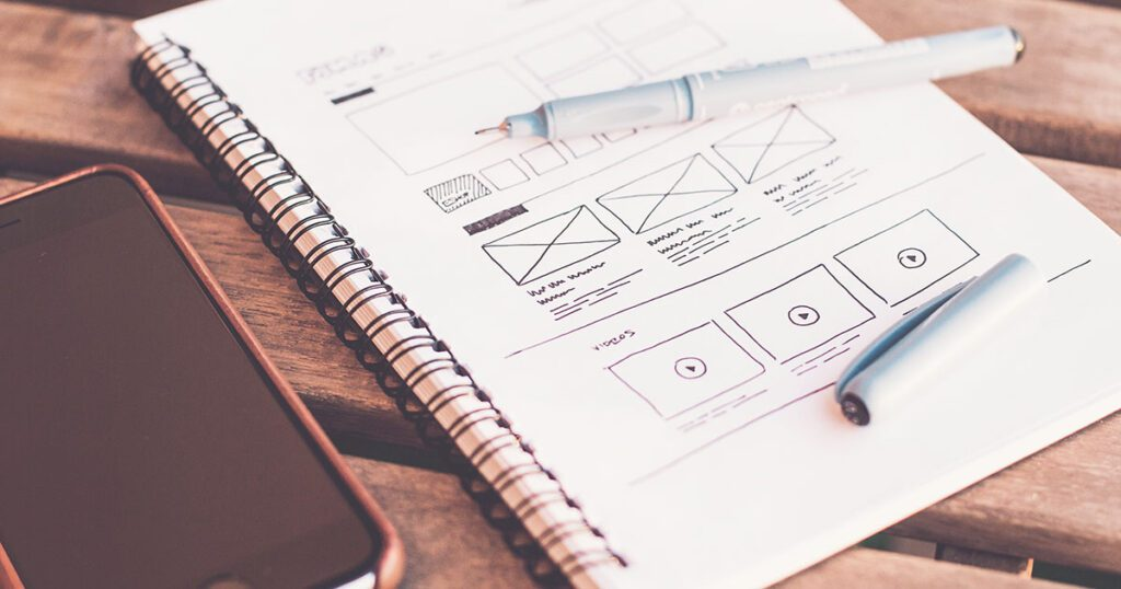 restyling sito web trend grafica