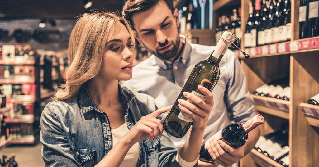 i consumatori scelgono un vino premiato