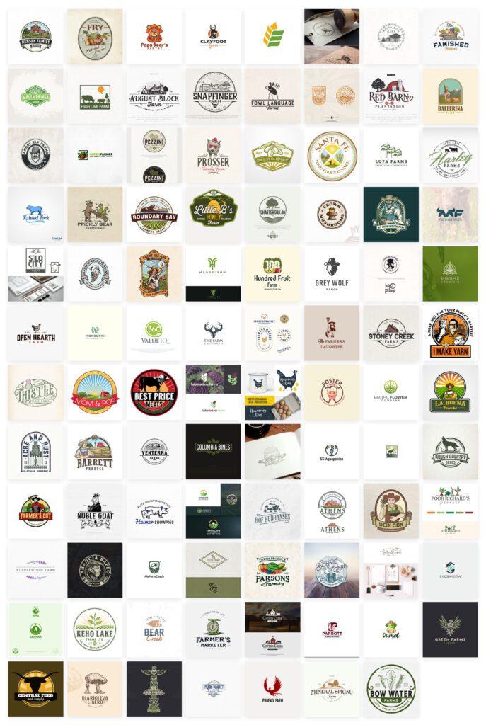 idee per logo azienda agricola