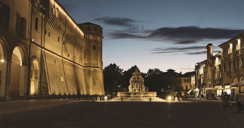 fontana masini rocca malatestiana piazza del popolo cesena