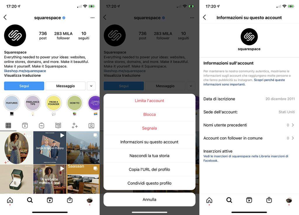 inserzioni attive su Instagram